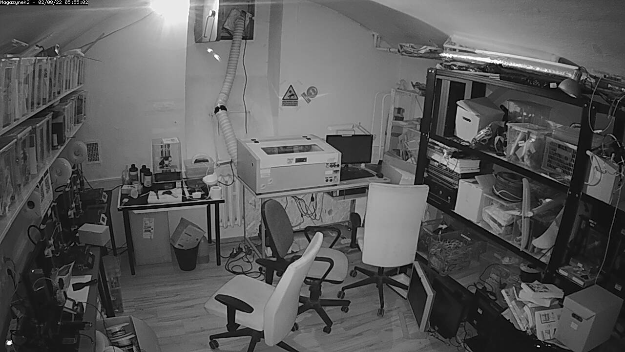 View from network lab camera